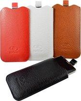 Honor 7 Smartphone Sleeve, Handige Telefoon Hoes, wit , merk i12Cover