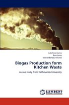 Biogas Production Form Kitchen Waste
