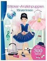 Sticker-Anziehpuppen Tänzerinnen