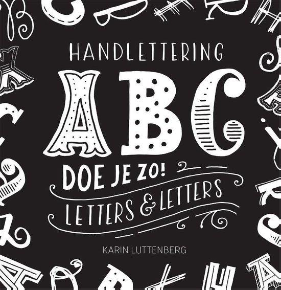 Boek cover Handlettering ABC doe je zo! van Karin Luttenberg (Paperback)
