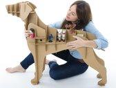 Milimetrado - Labrador van Karton - Decoratief opbergrek