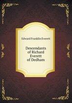 Descendants of Richard Everett of Dedham