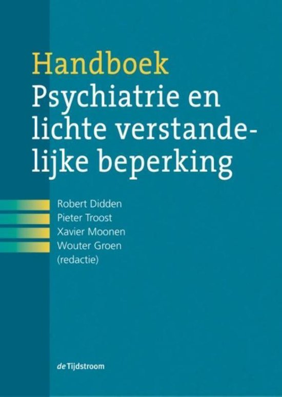 Handboek psychiatrie en lichte verstandelijke beperking - Tijdstroom, Uitgeverij de
