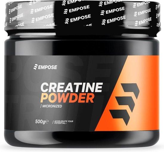 Empose Nutrition Creatine Poeder - Creatine Monohydraat - 500 gr