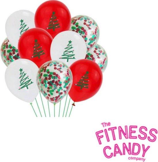 Kerstmis ballonnen - Set van 6 [Kerstboom]