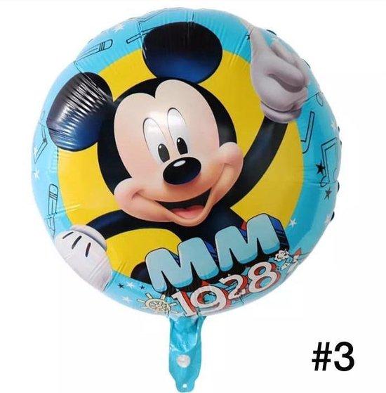 Disney Mickey of Minnie  Mouse Folieballon/Verjaardag/Feest/Folieballon(3)
