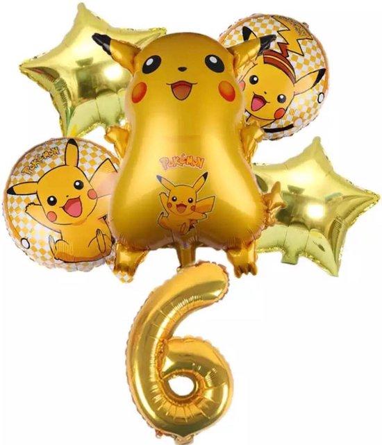 Pokemon Ballon Droom Thema Party Decoratie Benodigdheden Pikachu Verjaardagsfeestje , Nummer 6