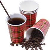 Koffiebeker - 300 Stuk(s) - 180 cc - Koffiebeker to go - Wegwep Bekers - Mileuvriendlijk