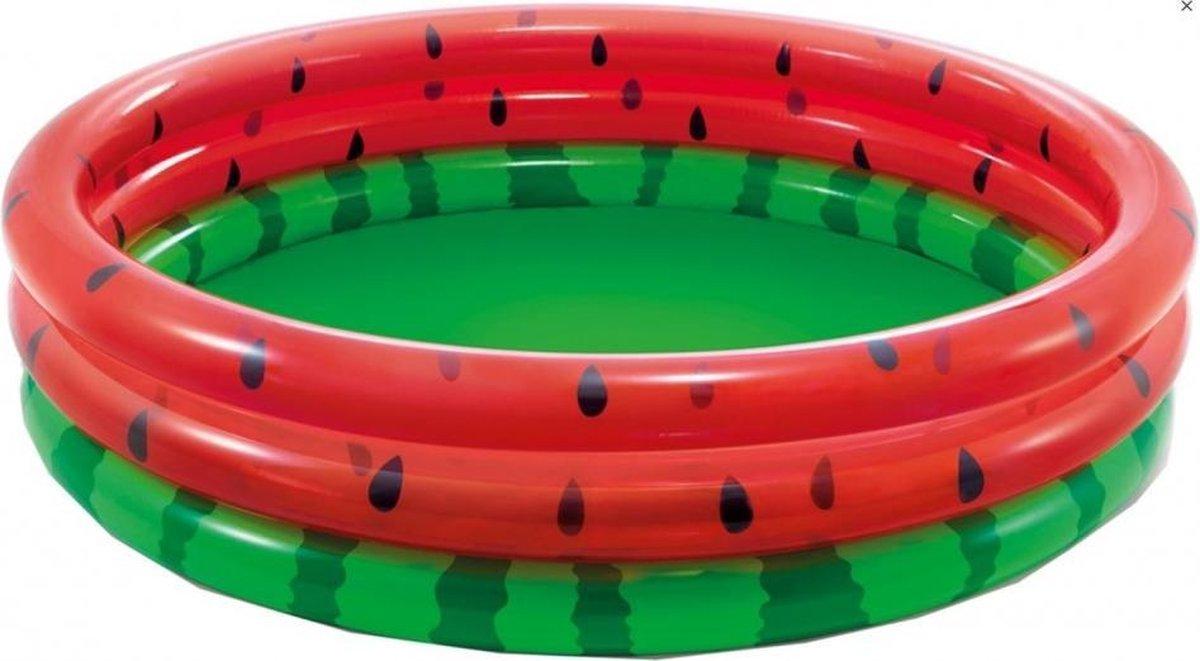 opblaaszwembad watermeloen 58448NP 168 x 38 cm groen