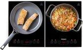 PRIMO IKP3-WS Dubbele inductiekookplaat - Touch Screen - 3500 W - 2 Kookzones - Zwart