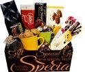 Verrassend cadeaupakket - met koffie en heerlijkheden