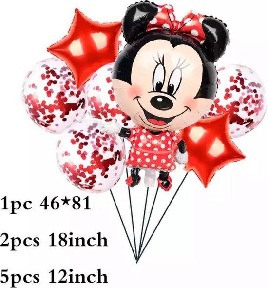 Minnie Mouse Folie  Ballonnen 8 Stuks  Verjaardagsfeestje Decoraties Jongen Meisje Speelgoed Baby Shower Kids Feestartikelen