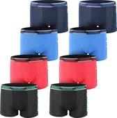 AltinModa® 8 pack jongens ondergoed - Voordelige jongens boxershort - katoenen onderbroek