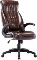 Game Hero Bureaustoel Office Patron T1 - Kantoor  - Bureaustoel - Ergonomische Rugleuning & Zitting - Bruin