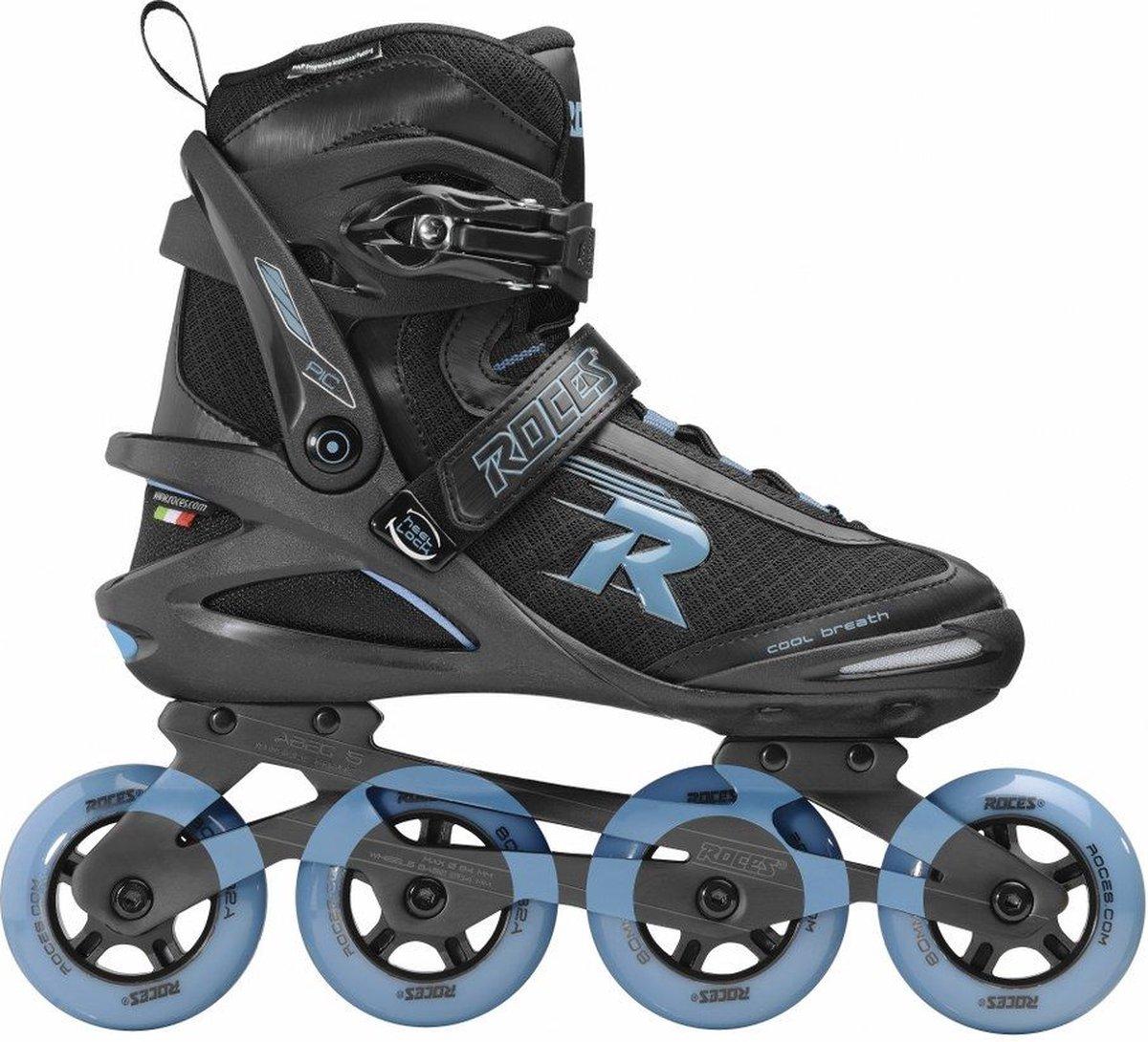 Roces Skates Pic Tif 80 Heren Maat 43 Zwart-Blauw