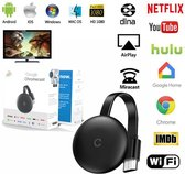 Tv Stick 4K Hd Hdmi Media Player 5G/2.4G Dongle - Draadloos TV kijken - Android