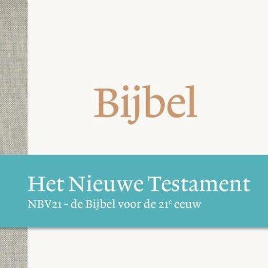 Boek cover De Bijbel - Het Nieuwe Testament NBV21 van  (Onbekend)
