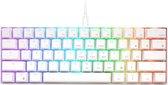 RK61 - RGB Mechanisch Gaming Toetsenbord met 61 Keys – Red Switches - Ergonomisch Mechanical Gaming Keyboard  - Wit
