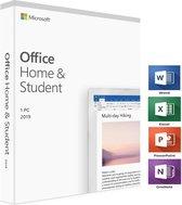 Microsoft Office Home Student 2019   Code in doosje   1 PC   Windows 10  