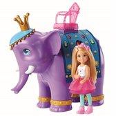 Barbie Dreamtopia Chelsea Pop met Olifant