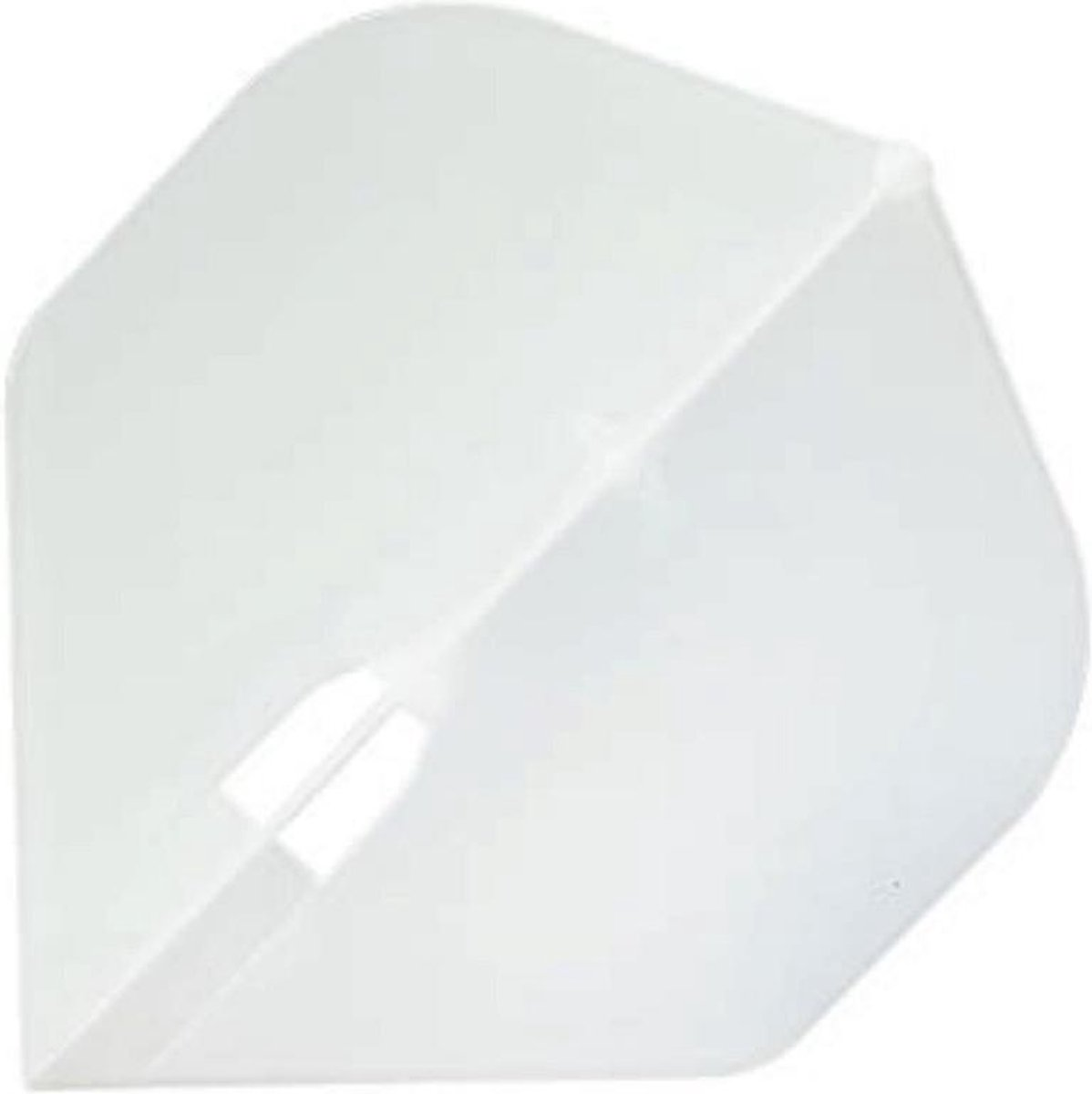 L Style Champagne Dart Flights Standard Clear White