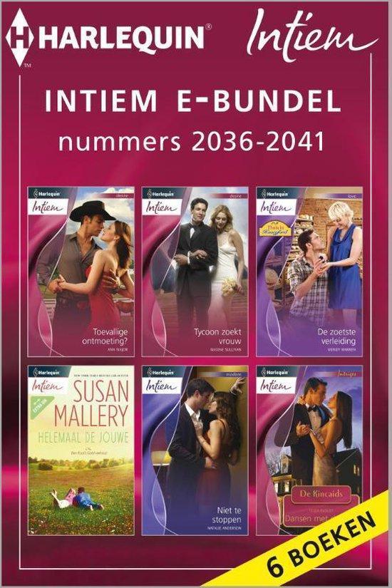Intiem e-bundel nummers 2036 - 2041, 6-in-1 - Natalie Anderson  