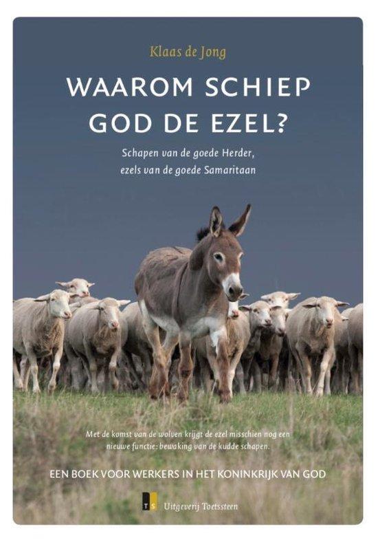 Boek cover Waarom schiep God de ezel? van Klaas de Jong (Paperback)