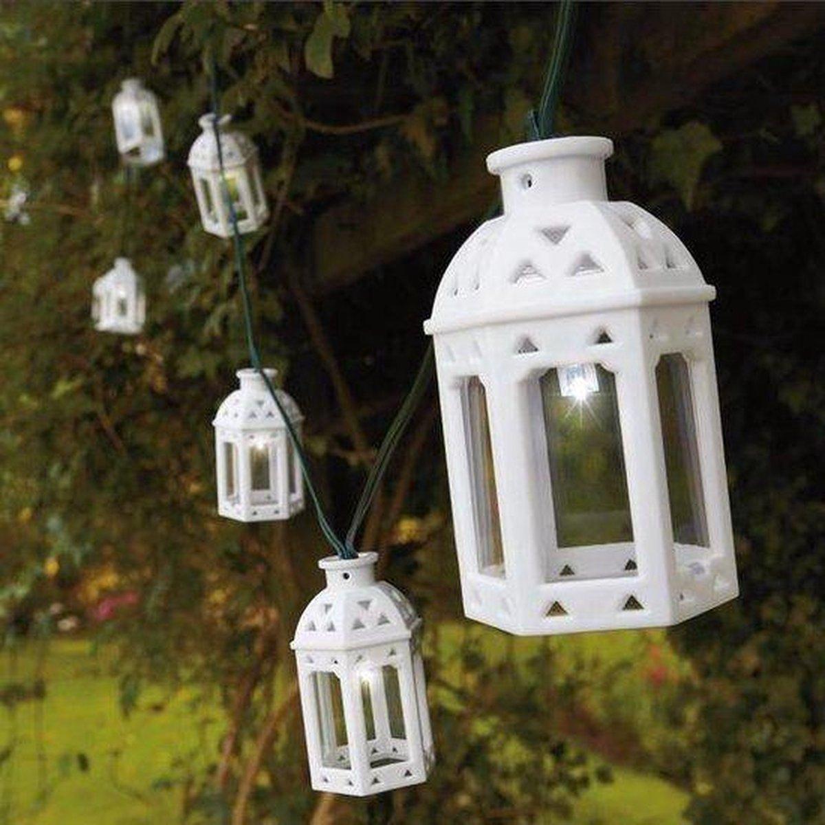 Verrassend bol.com | Feestverlichting met 16 LED lantaarns op zonne-energie MB-69