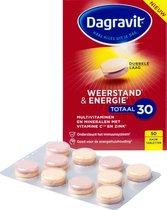Dagravit Weerstand & Energie Totaal 30 - Multivitamine - 50 tabletten