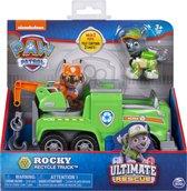 Paw Patrol voertuig Ultimate Rescue - Rocky vuilniswagen truck