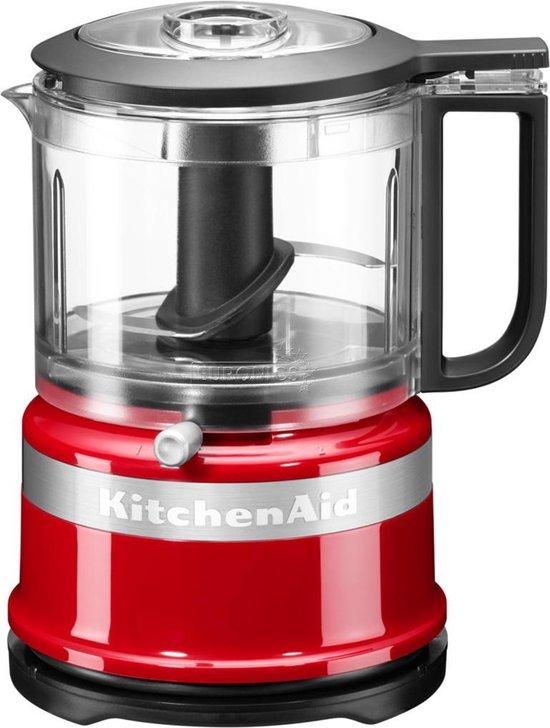 KitchenAid Mini Food Processor 5KFC3516 - Hakmolen - Rood