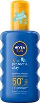 NIVEA SUN Kids Protect & Play Hydraterende Zonnespray SPF 50+ - 200 ml