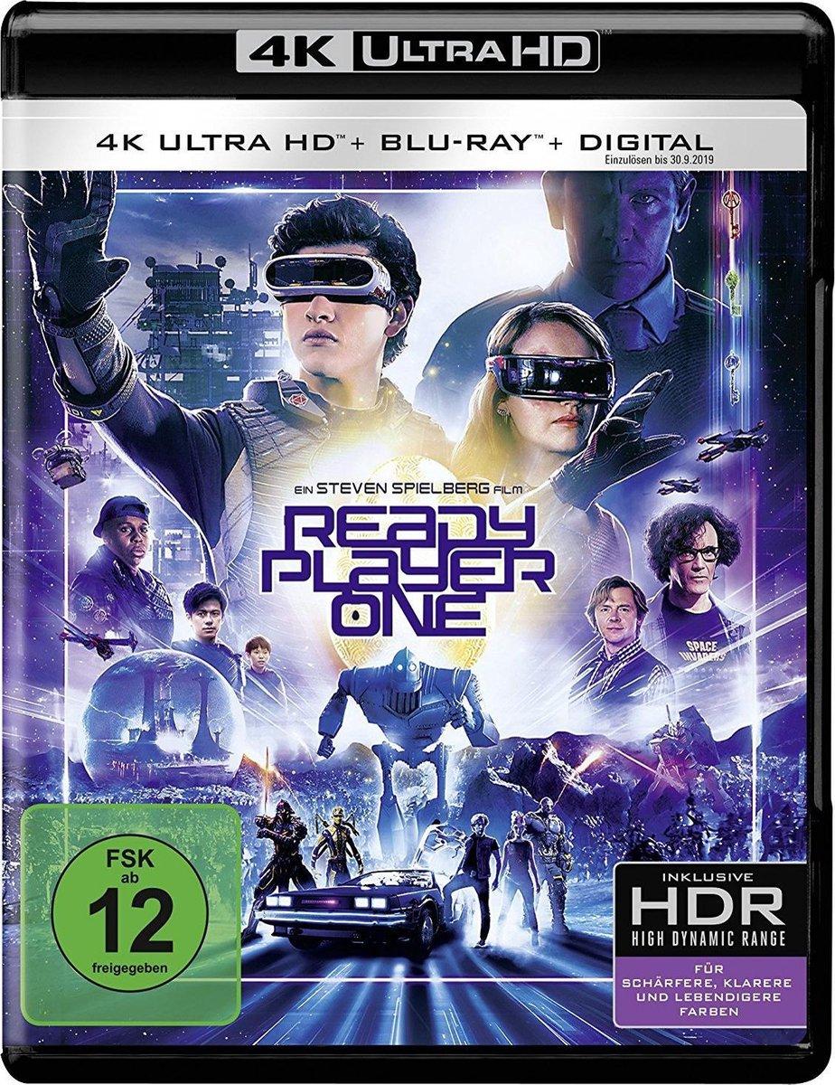 Ready Player One (Ultra HD Blu-ray & Blu-ray) (Import)-