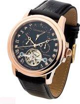 Calvaneo 1583 Calvaneo Evidence Diamond Rosegold - Horloge - 44 mm - Automatisch uurwerk