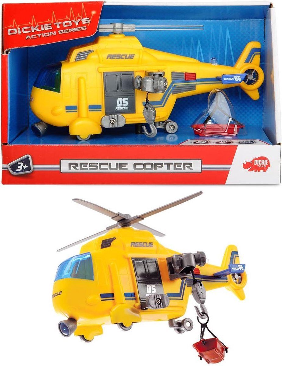 Dickie - Action Series - Reddingshelikopter (15cm)