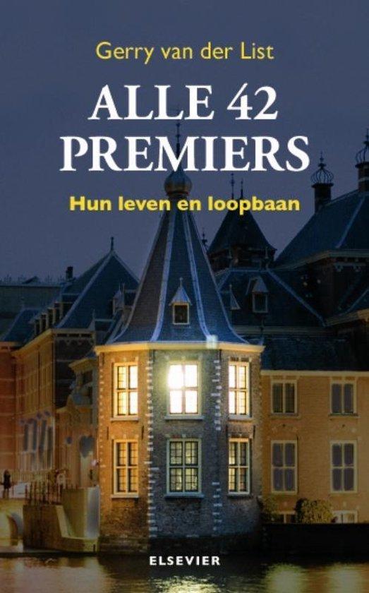 Alle 42 Premiers - Gerry van der List |