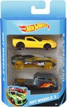 Hot Wheels Cadeauset met 3 Auto's