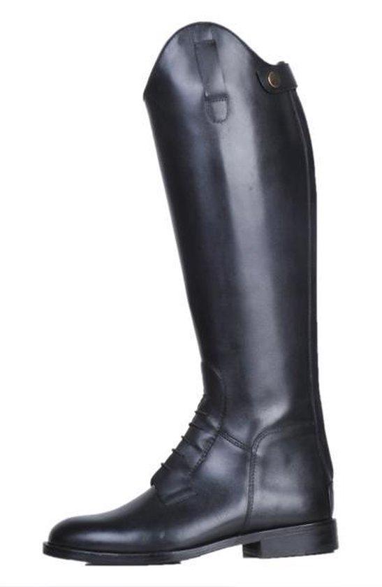 Rijlaarzen -Spain-, soft leer, lang-smalle wijdte zwart 38