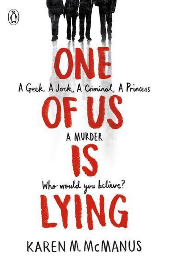 Boek cover One Of Us Is Lying van Karen Mcmanus (Onbekend)