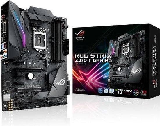 ASUS ROG STRIX Z370-F GAMING LGA 1151 (Socket H4) ATX Intel® Z370 - ASUS