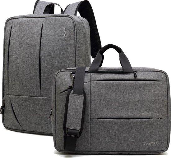 Coolbell Laptoptas 2-in-1 voor 17.3 inch laptop