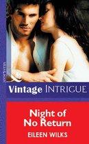 Omslag Night Of No Return (Mills & Boon Vintage Intrigue)