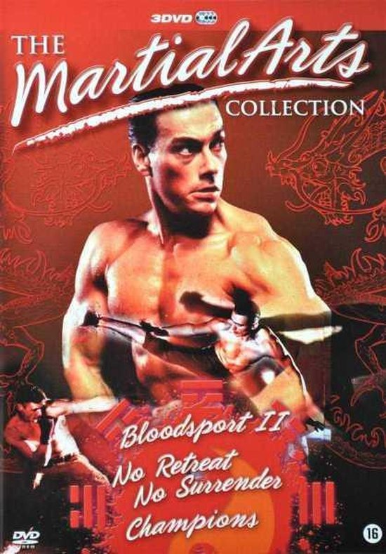 Cover van de film 'The Martial Arts Collection'