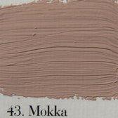 L'Authentique krijtverf 2.5 lit. kleur 43 Mokka