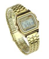 Hidzo Horloge Digital Watch ø 37 mm - Goud - Staal