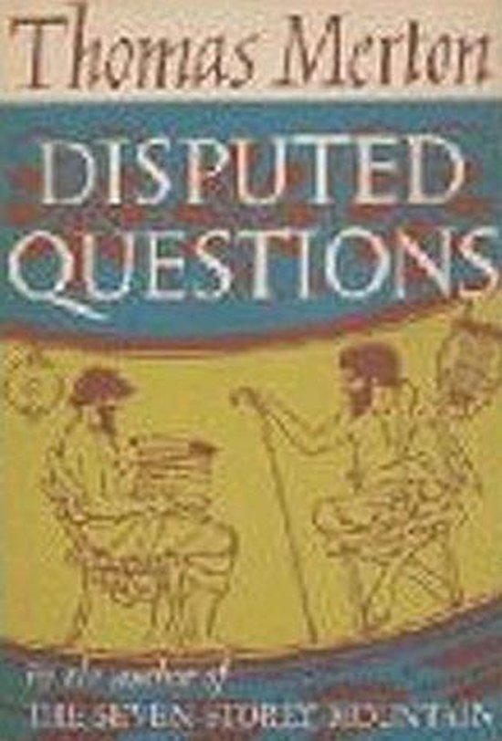 Boek cover Disputed Questions van Thomas Merton (Onbekend)