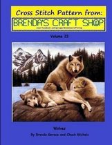 Wolves Cross Stitch Pattern from Brenda's Craft Shop - Volume 23