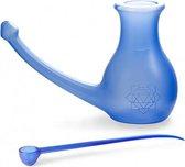 MADFitness - Neusgieter - Incl Maatlepel - 0,5 Liter - Blauw