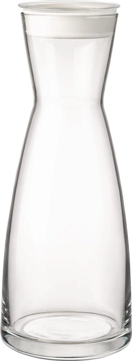 Bormioli Ypsilon Brio Karaf - 1L - Deksel Wit - Bormioli