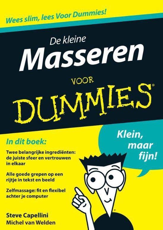 Voor Dummies - De kleine masseren voor Dummies - Fontline   Fthsonline.com